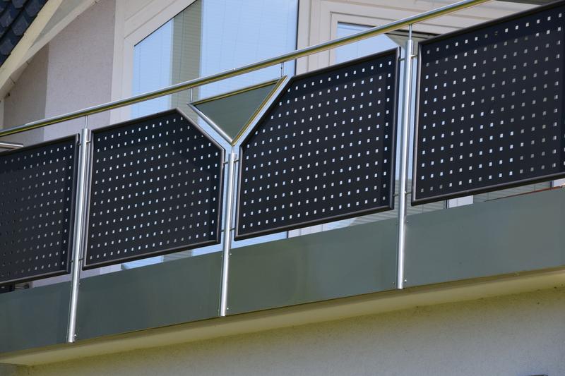 wissel metallgestaltung balkongel nder. Black Bedroom Furniture Sets. Home Design Ideas